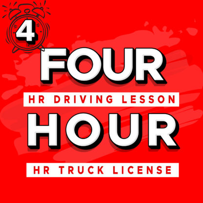 Four Hour HR Heavy Rigid Truck License Lesson